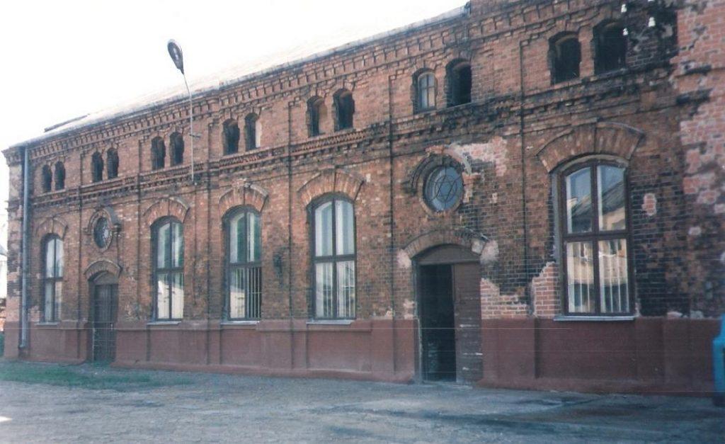 """בית האדמו""""ר בעיירה גורה קלוואריה שבפולין"""